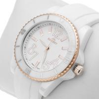 Zegarek damski Bisset nowoczesne BSPD47GW - duże 2