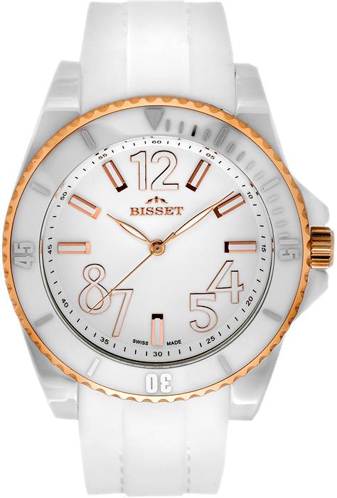 Zegarek damski Bisset nowoczesne BSPD47GW - duże 1
