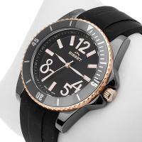 Zegarek damski Bisset nowoczesne BSPD47K - duże 2