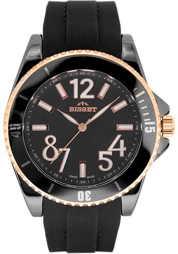 Zegarek damski Bisset nowoczesne BSPD47K - duże 1
