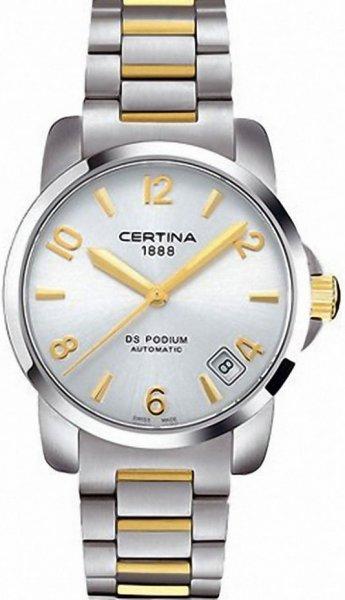 Zegarek damski Certina ds podium lady C001.207.22.037.00 - duże 1