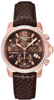 zegarek DS Podium Lady Chronograph Certina C001.217.36.297.10