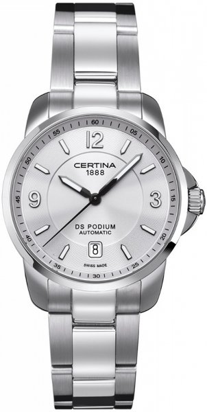 Zegarek męski Certina ds podium C001.407.11.037.00 - duże 1