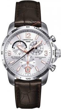 zegarek DS Podium Chronograph GMT Certina C001.639.16.037.01