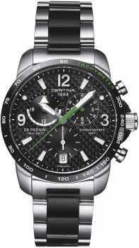 zegarek DS Podium Chronograph GMT Certina C001.639.22.207.02