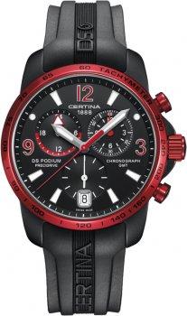 zegarek  DS Podium Chronograph GMT Aluminium Certina C001.639.97.057.02