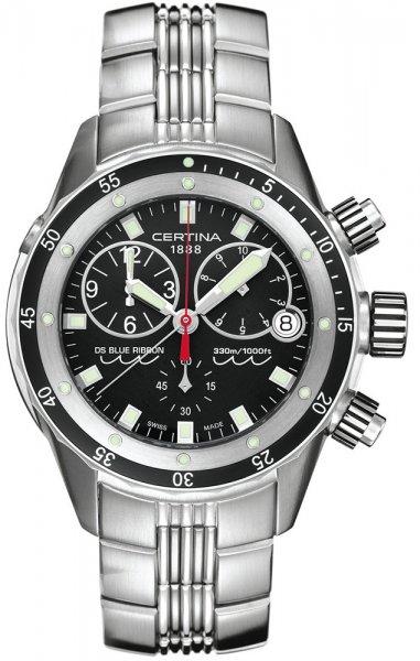 Zegarek męski Certina ds blue ribbon C007.417.11.051.00 - duże 1