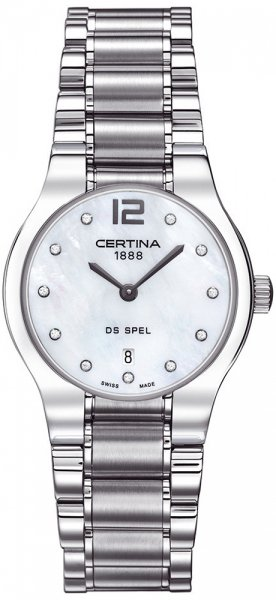 Zegarek damski Certina ds spel C012.209.11.116.00 - duże 1