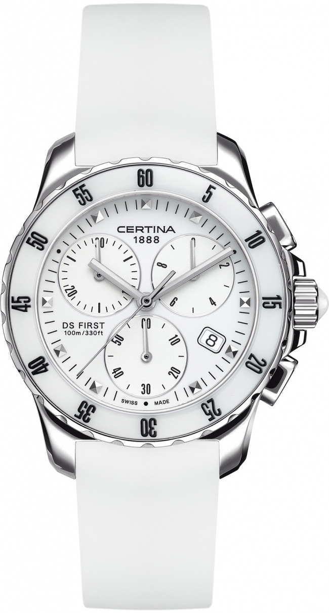 Certina C014.217.17.011.00 DS First DS First Lady Ceramic Chrono