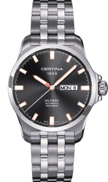 Zegarek męski Certina ds first C014.407.11.081.01 - duże 1
