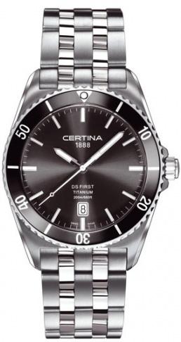 Certina C014.410.44.081.00 DS First DS First Gent Ceramic Titanium