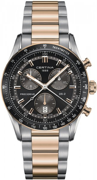 Certina C024.447.22.051.00 DS-2 DS-2 Chronograph 1/100 sec
