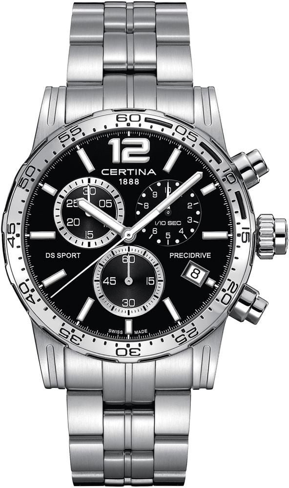 Certina C027.417.11.057.00 DS Sport DS Sport Chronograph 1/10 sec