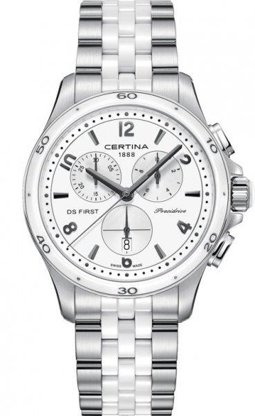 Zegarek damski Certina ds first lady C030.217.11.017.00 - duże 1
