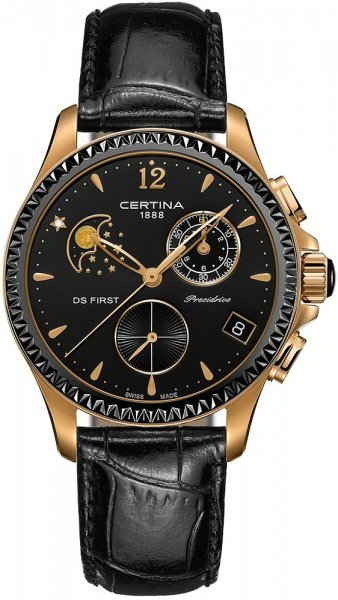 Certina C030.250.36.056.00 DS First Lady DS First Lady Chronograph Moon Phase