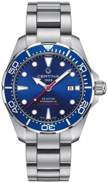 Zegarek Certina  C032.407.11.041.00 - duże 1