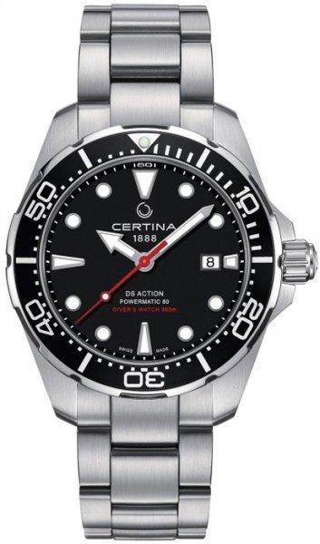 Zegarek męski Certina ds action C032.407.11.051.00 - duże 3