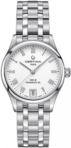 Zegarek Certina DS-8 Lady Powermatic 80 - damski  - duże 3