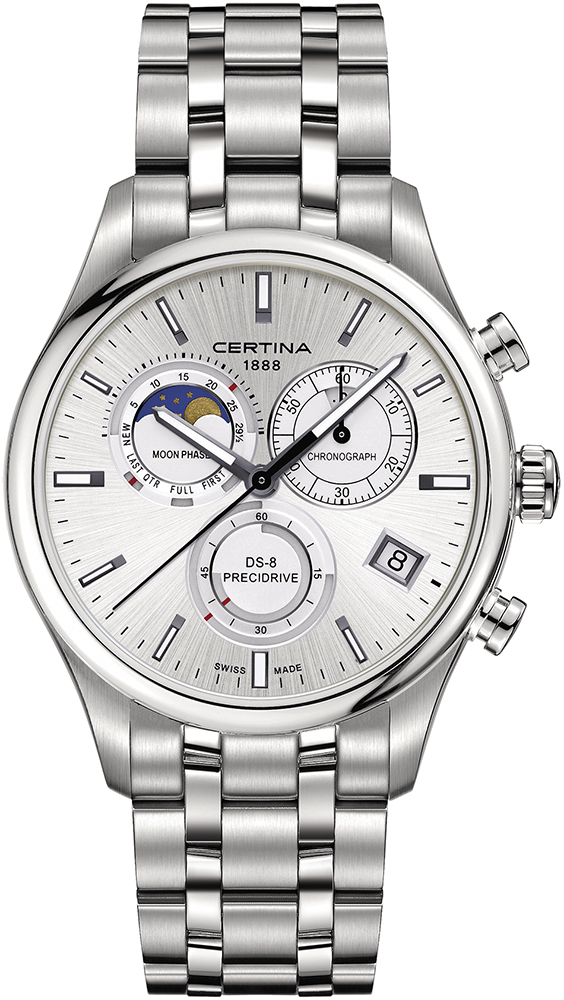 Certina C033.450.11.031.00 DS-8 DS-8 Chronograph Moon Phase