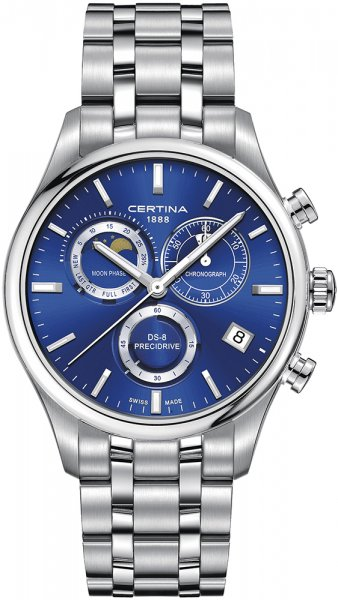 Certina C033.450.11.041.00 DS-8 DS-8 Chronograph Moon Phase