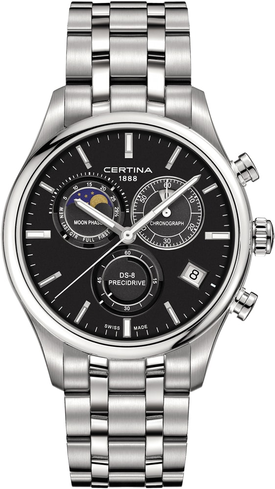 Certina C033.450.11.051.00 DS-8 DS-8 Chronograph Moon Phase