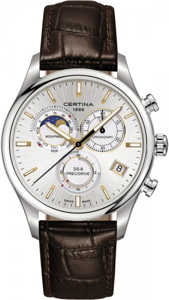 Certina C033.450.16.031.00 DS-8 DS-8 Chronograph Moon Phase