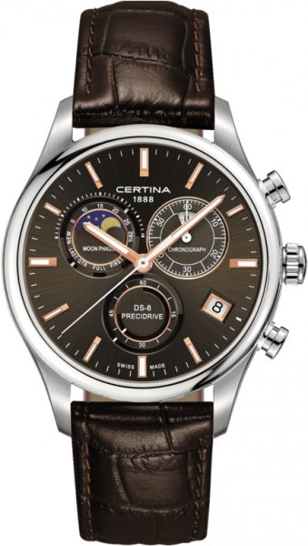 Certina C033.450.16.081.00 DS-8 DS-8 Chronograph Moon Phase