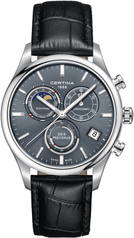 Certina C033.450.16.351.00 DS-8 DS-8 Chronograph Moon Phase