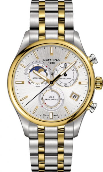 Certina C033.450.22.031.00 DS-8 DS-8 Chronograph Moon Phase