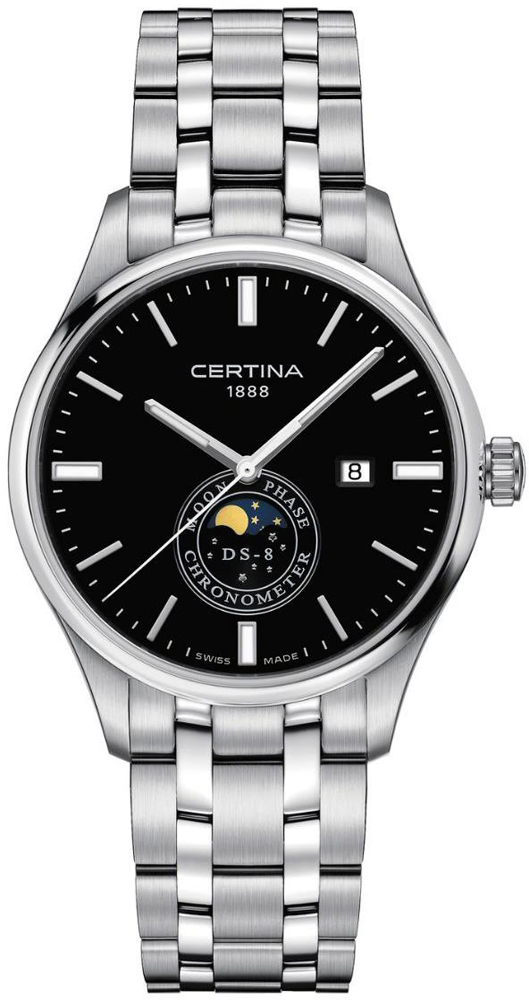 Certina C033.457.11.051.00 DS-8 DS-8 Moon Phase
