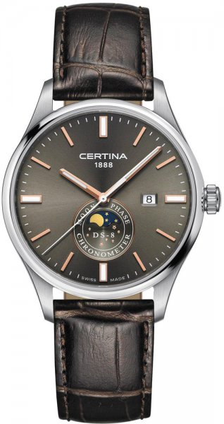 Certina C033.457.16.081.00 DS-8 DS-8 Moon Phase