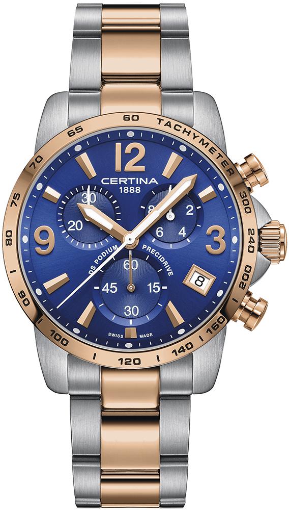 Certina C034.417.22.047.00 DS Podium DS Podium Chronograph 1/10 sec