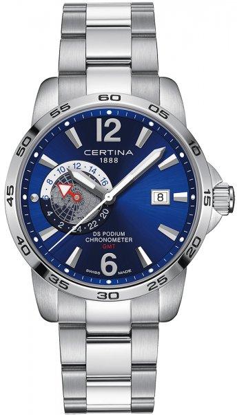 Zegarek męski Certina ds podium C034.455.11.047.00 - duże 1