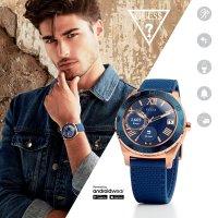 Zegarek męski Guess connect smartwatch C1001G2 - duże 2