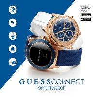 Zegarek męski Guess connect smartwatch C1001G2 - duże 3