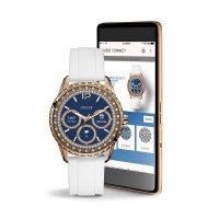 Zegarek damski Guess connect smartwatch C1003L1 - duże 3