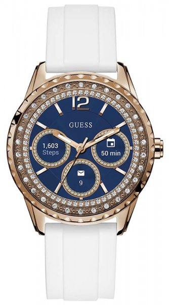 Zegarek damski Guess connect smartwatch C1003L1 - duże 1