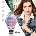 Zegarek damski Guess connect smartwatch C1003L3 - duże 4