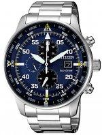 Zegarek męski Citizen chrono CA0690-88L - duże 1