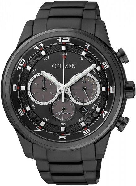 Zegarek męski Citizen chrono CA4035-57E - duże 1