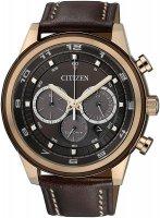 Zegarek męski Citizen chrono CA4037-01W - duże 1
