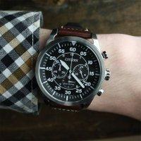Zegarek męski Citizen chrono CA4210-16E - duże 2