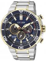 Zegarek męski Citizen chrono CA4254-53L - duże 1