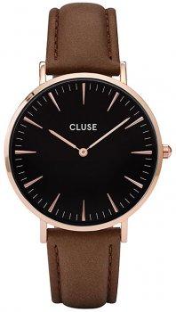 zegarek Rose Gold Black/Brown Cluse CL18003