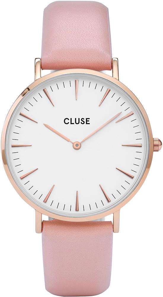 Cluse CL18014 La Boheme Rose Gold White/Pink
