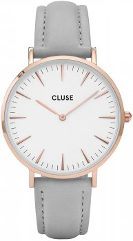 zegarek Rose Gold White/Grey Cluse CL18015