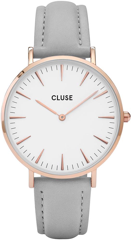 Cluse CL18015 La Boheme Rose Gold White/Grey