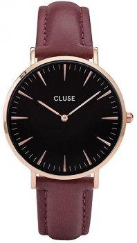 zegarek Rose Gold Black Marsala Cluse CL18020