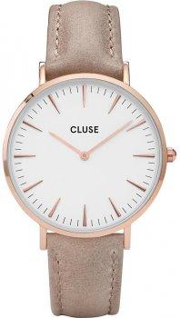 zegarek Rose Gold White/Hazelnut Cluse CL18031