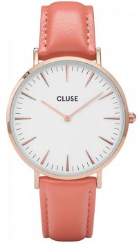 zegarek Rose Gold White/Flamingo Cluse CL18032